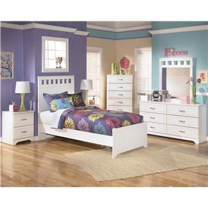 Signature Design By Ashley Lulu Twin Twin Bunk Bed