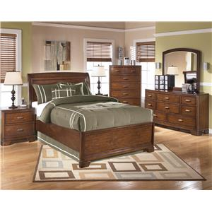 Signature Design by Ashley Alea Twin Sleigh Bed