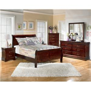 Signature Design by Ashley Alisdair 5 Piece Full Bedroom Group