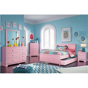 Signature Design by Ashley Bronett Full Bedroom Group