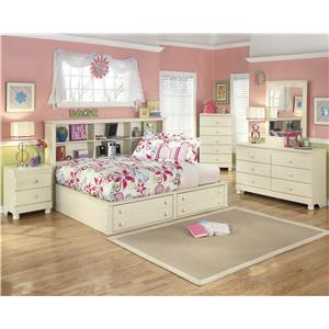 Ashley (Signature Design) Cottage Retreat Twin Poster Bed with Trundle