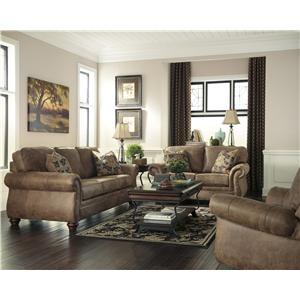 Ashley (Signature Design) Larkinhurst - Earth Stationary Living Room Group