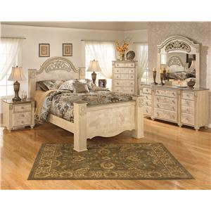 Signature Design by Ashley Saveaha Queen Bedroom Group