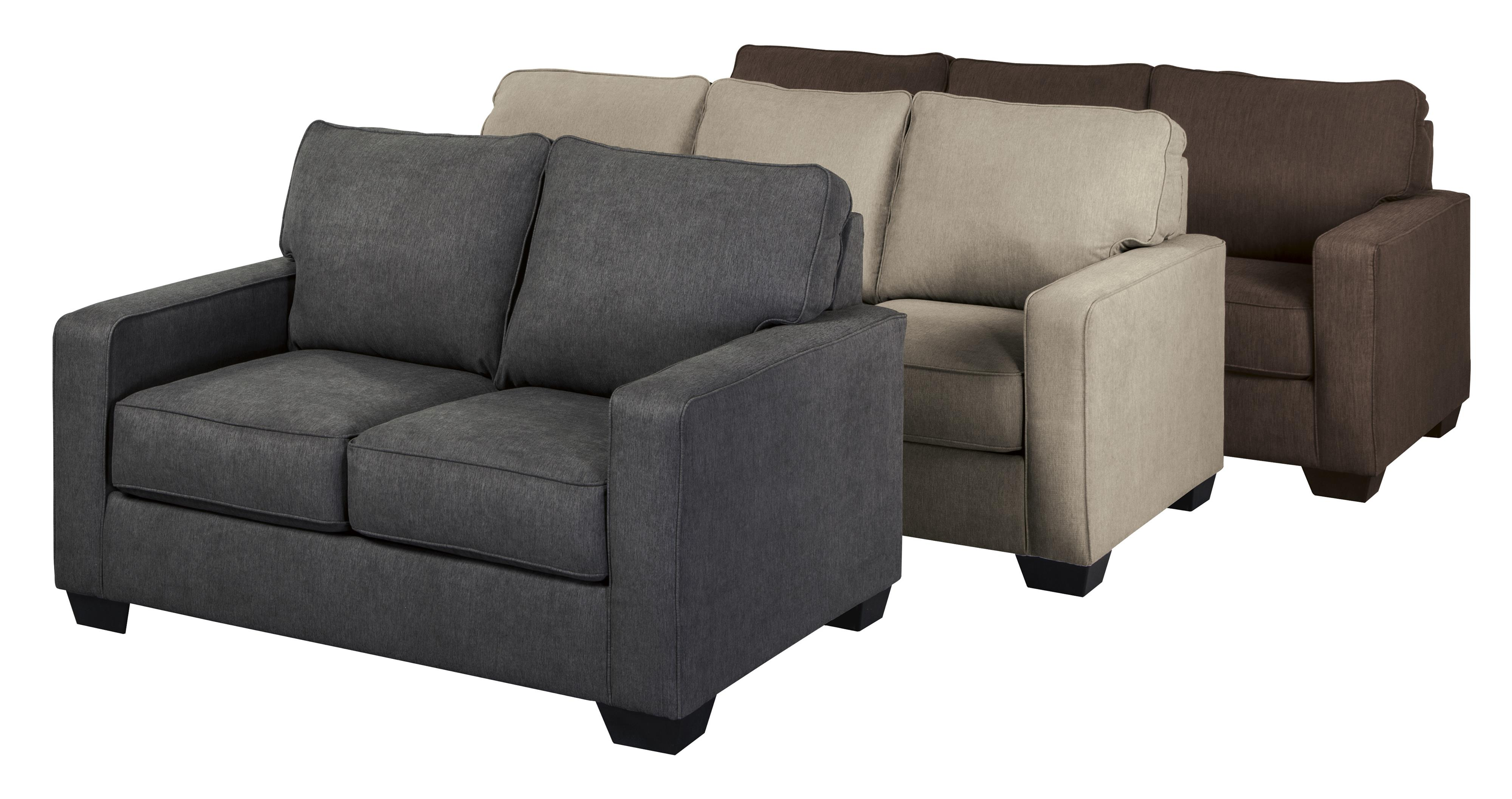 Twin Sofa Sleeper With Memory Foam Mattress By Signature
