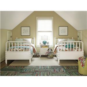 Universal Kids Smartstuff Bellamy Twin Bunk Bed Bedroom Group