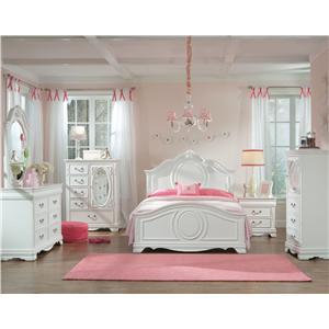 Vendor 855 Jessica Twin Bedroom Group