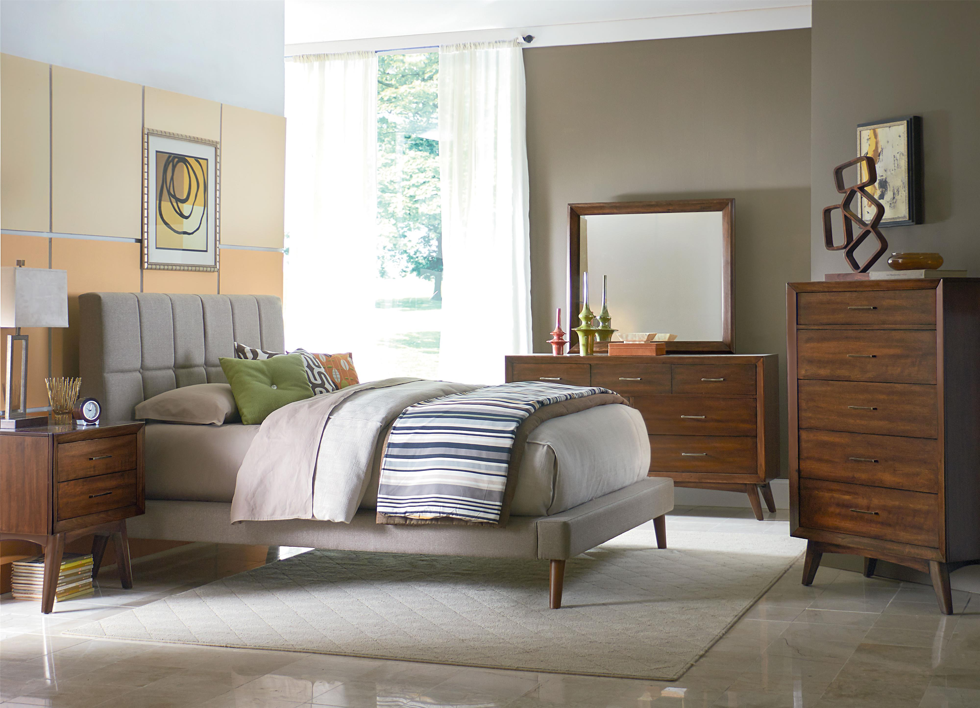 wall panels Mid century modern bedroom furniture, Modern
