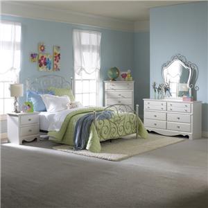 Standard Furniture Spring Rose Full Bedroom Group
