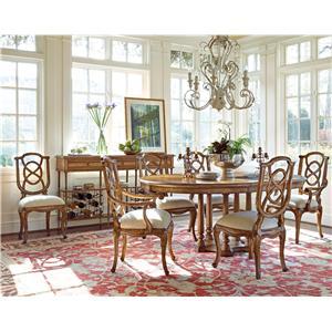 Stanley Furniture Arrondissement Formal Dining Room Group