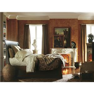Stanley Furniture The Classic Portfolio - Louis Philippe King Panel Bed w/ Headboard & Footboard