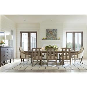 Stanley Furniture Coastal Living Resort Formal Dining Room Group