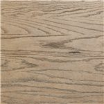 A Weathered Pier Finish Over Richly Grained Oak Veneers and Hardwood Solids