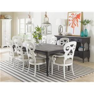 Stanley Furniture Coastal Living Retreat Formal Dining Room Group
