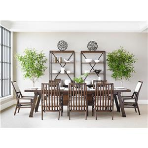 Stanley Furniture Newel Formal Dining Room Group