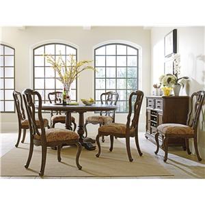 Stanley Furniture The Classic Portfolio - Rustica Dining Room Group