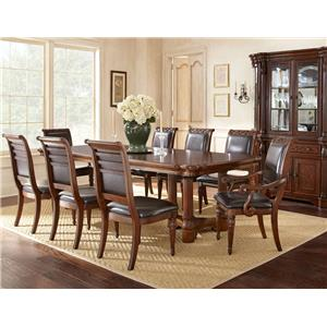 Steve Silver Alberta Formal Dining Room Group