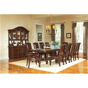 Steve Silver Antoinette Formal Dining Room Group