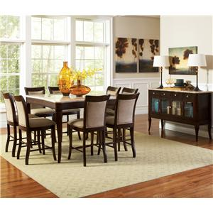 Steve Silver Marseille Casual Dining Room Group