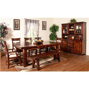 Sunny Designs Vineyard Formal Dining Room Group