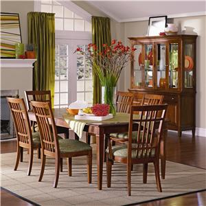 Thomasville® Bridges 2.0 Dining Club Chair with Casters