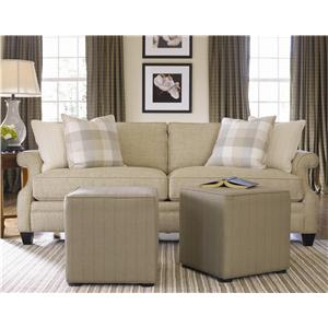 Thomasville® Mercer Series Chair with Scoop Arms