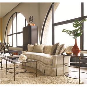 Thomasville® Stiletto Accent Table w/ Glass Top