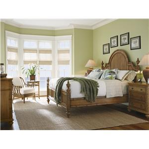 Tommy Bahama Home Beach House California King Bedroom Group