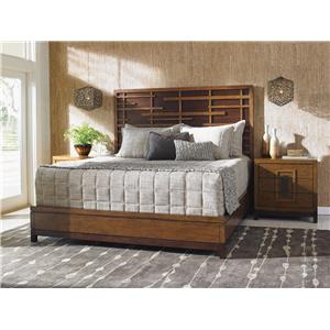 Tommy Bahama Home Island Fusion Queen Bedroom Group