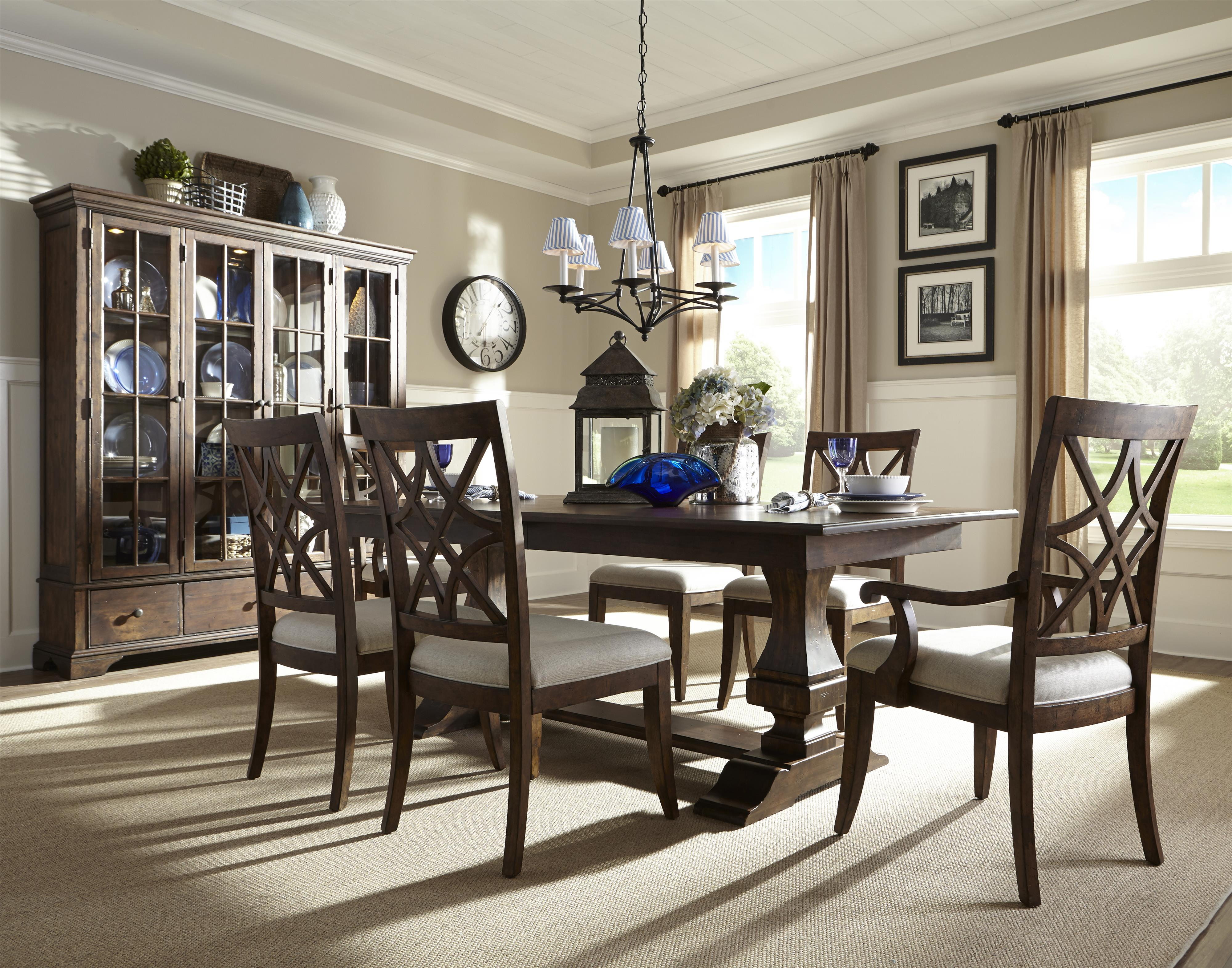 Formal Dining Room Group by Trisha Yearwood Home Collection by