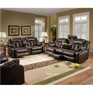 United Furniture Industries 50325 Reclining Living Room Group