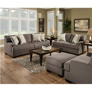 United Furniture Industries 5920 Stationary Living Room Group