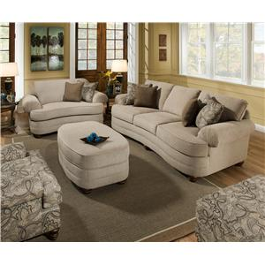 High Quality Stationary Living Room Group