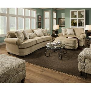 United Furniture Industries 90251 Stationary Living Room Group