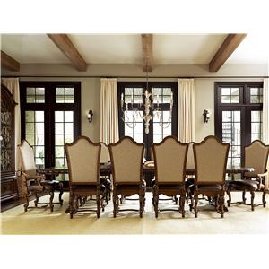 Universal Escalera Formal Dining Room Group
