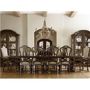 Universal Castella Formal Dining Room Group