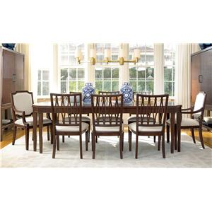 Universal Silhouette Formal Dining Room Group