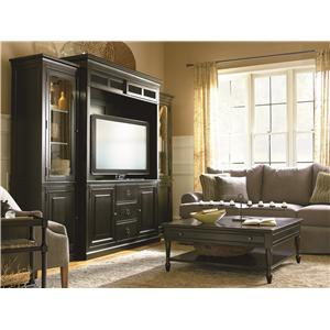 Universal Summer Hill 2 Door Tall Cabinet