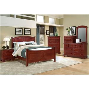 Vaughan Bassett Hamilton Franklin King Panel Storage Bed