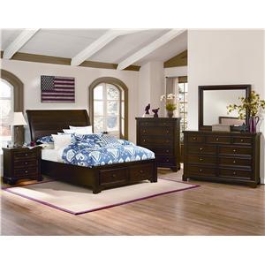 Vaughan Bassett Hanover King Bedroom Group