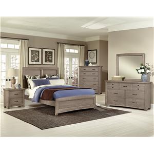 Vaughan Bassett Transitions Queen Bedroom Group