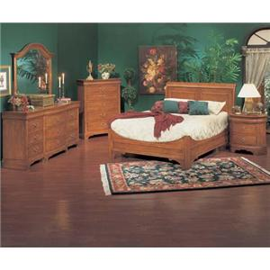 Winners Only Renaissance Queen Bedroom Group