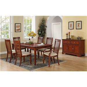 Winners Only Topaz Formal Dining Room Group