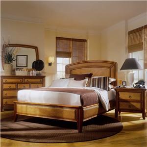 American Drew Antigua Queen Bedroom Group