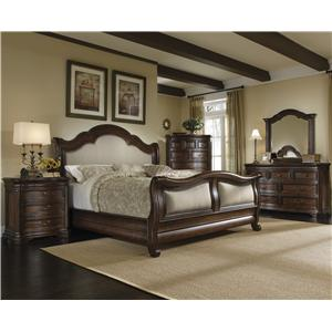 A.R.T. Furniture Inc Coronado Queen Bedroom Group