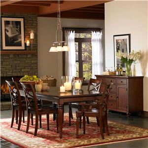 Aspenhome Cambridge Formal Dining Room Group