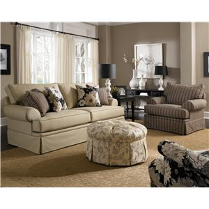 Broyhill Furniture Emily Stationary Living Room Group