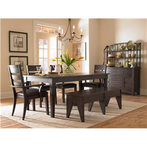 Broyhill Furniture Attic Retreat Formal Dining Room Group