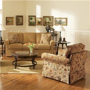 Broyhill Furniture Audrey Stationary Living Room Group
