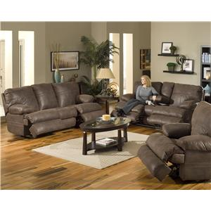 Catnapper Ranger - Chocolate Reclining Living Room Group