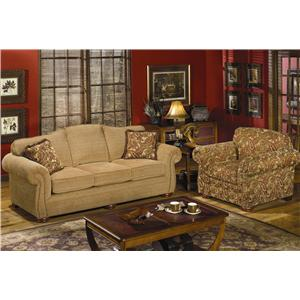 Craftmaster 267 Stationary Living Room Group